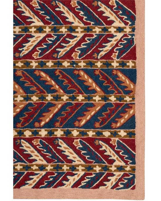 CHAIN STITCH RUG 2,95X0,76   3210 Χαλιά Ferahan-Aubusson Χαλιά  - Χειροποιητα Χαλια - xaliglyfada.gr